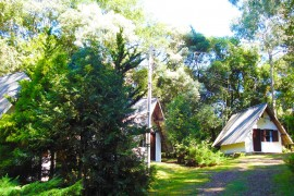 Vista Externa da Cabana